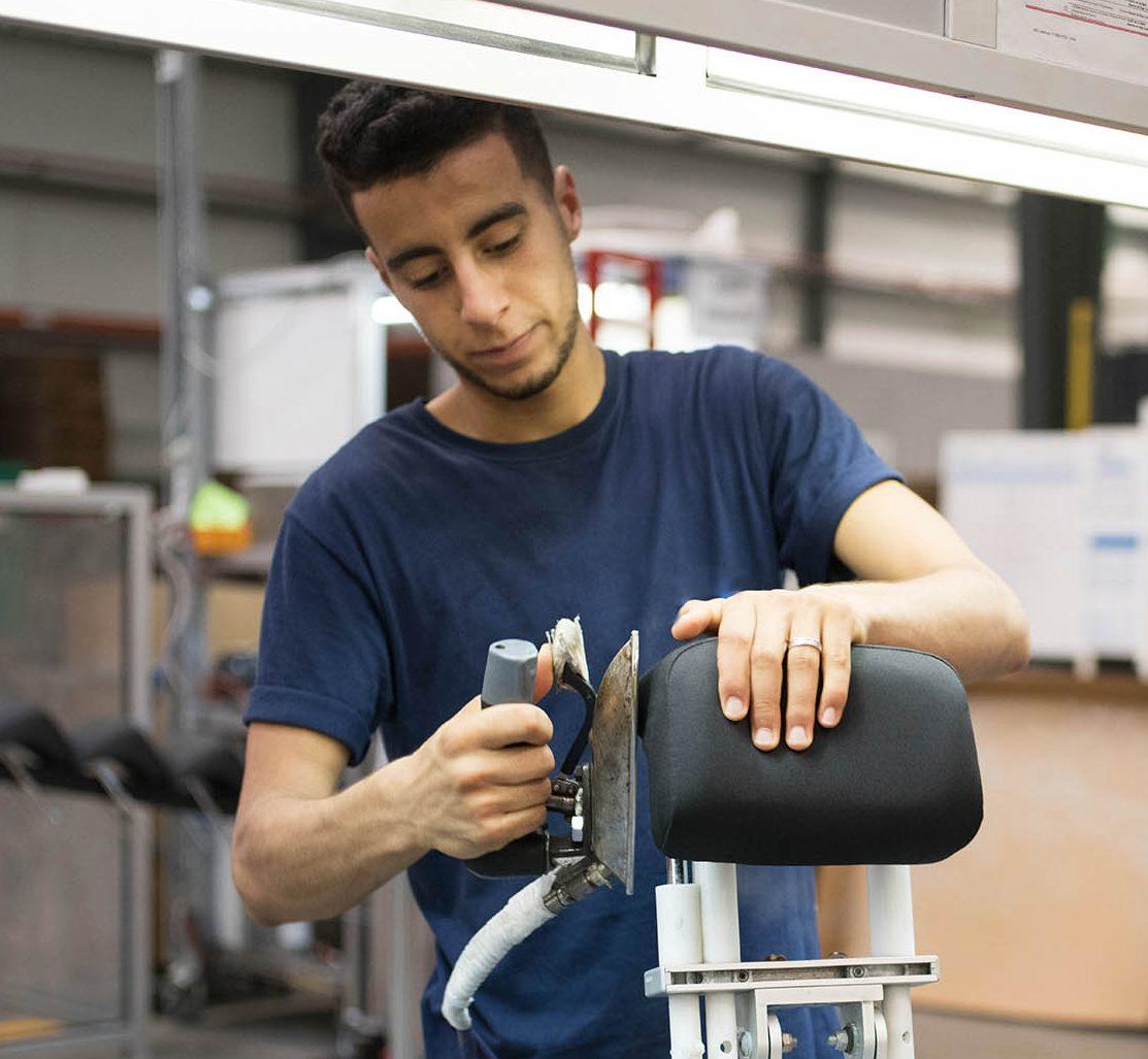 tesca 2018 montage appui tête seat composant